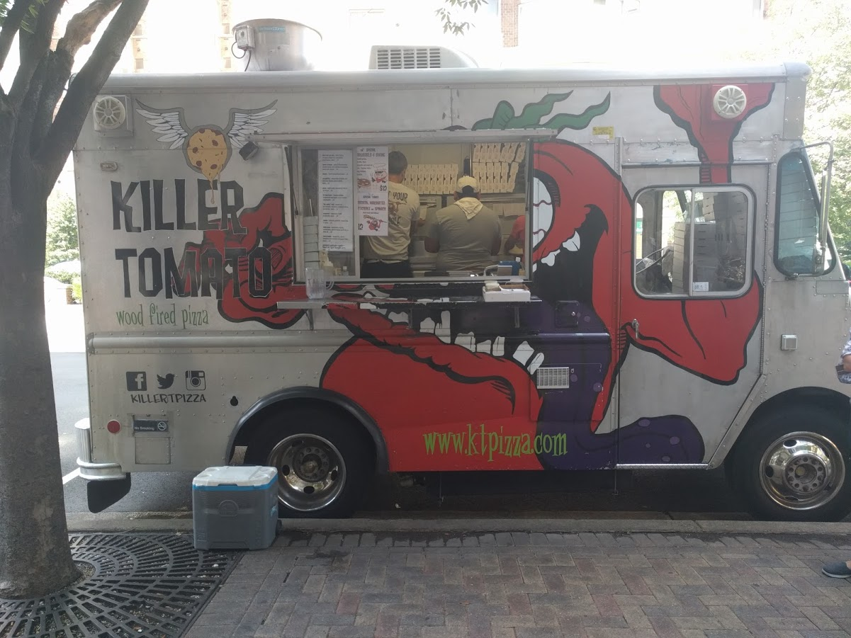 Killer Tomato Food Truck in Ballston VA